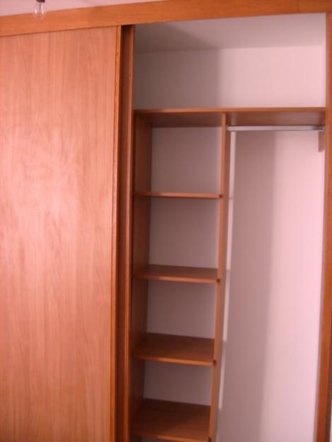 closets de madera sencillos imagui