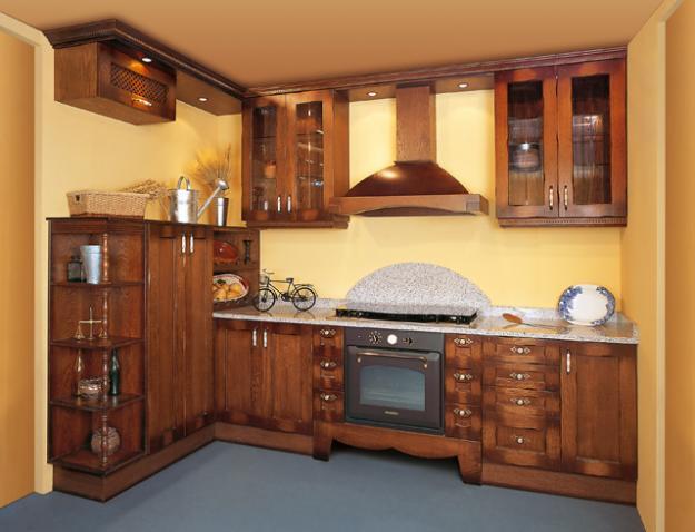 Reposteros de cocina en madera imagui - Alacenas de madera para cocina ...